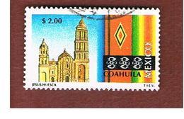 MESSICO (MEXICO) -  SG 2413a  - 1997  TOURISM: COAHUILA                   -  USED° - Messico