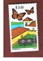 MESSICO (MEXICO) -  MI 2914  -   2001    TOURISM: MICHOACAN, BUTTERFLIES                 -  USED° - Messico