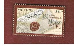 MESSICO (MEXICO) -  MI 3093 -   2004    125^ ANNIV. MEXICO INTO  U.P.U.            -  USED° - Messico