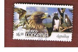 MESSICO (MEXICO) -  MI 2971A -   2002    MEXICO CONSERVA: EAGLES           -  USED° - Messico