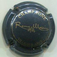 CAPSULE-CHAMPAGNE MASSIN D. N°02 Bleu-noir & Or - Champagnerdeckel