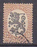 PGL - FINLANDE N°81 - Used Stamps