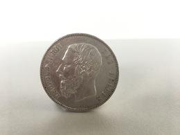 5 Frank 1870 - Zilver - Prachtig - Belgie - 1865-1909: Leopold II