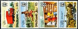 BV0764 Swaziland 1980 Postal Exhibition, Postal Sorting, Etc. 4V MNH - UPU (Wereldpostunie)