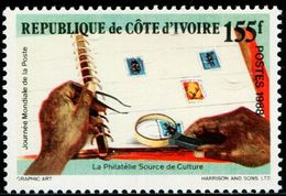 BV0765 Côte D'Ivoire 1988 Stamps In The Ticket 1V MNH - UPU (Union Postale Universelle)