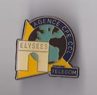 PIN'S THEME FRANCE TELECOM  AGENCE DES CHAMPS ELYSEES - France Telecom