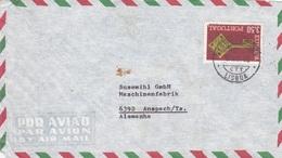 2 Briefe Aus Portugal - 1910-... Republic