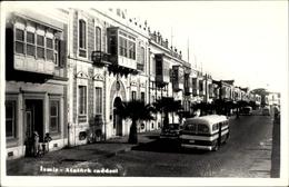 Cp Smyrna Izmir Türkei, Atatürk Caddesi, Straßenpartie In Der Stadt, Bus - Cartoline