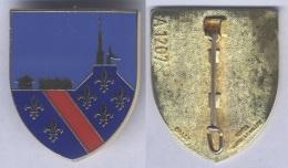 Insigne De La Base Aérienne 277 - Varennes - Armée De L'air