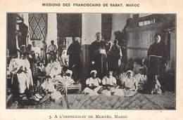 P-jmt2-18-5193 :  MISSION DES FRANCISCAINS DE RABAT. ORPHELINAT DE MEKNES - Meknès