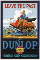 @@@ MAGNET - Dunlop Fort The Tyre For Modern Motoring Conditions - Advertising