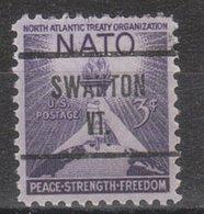 USA Precancel Vorausentwertung Preo, Locals Vermont, Swanton 724 - Vereinigte Staaten
