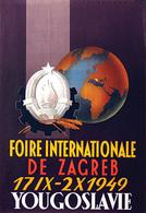 @@@ MAGNET - Foire Internationale De Zagreb Yougoslavie - Advertising