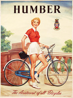 @@@ MAGNET - Humber The Aristocrat Of All Bicycles - Advertising