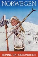 @@@ MAGNET - Norwegen Sonne Ski Gesundheit - Advertising