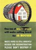 @@@ MAGNET - One Ton Of Waste Paper - Advertising