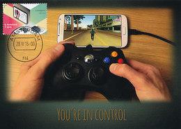 D35022 CARTE MAXIMUM CARD FD 2015 NETHERLANDS - GAMING CONTROLLER CP ORIGINAL - Spiele