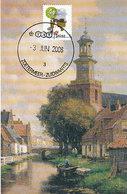 D35024 CARTE MAXIMUM CARD FD 2008 NETHERLANDS - CHURCH ZOETERMEER - BEAUTIFUL HOLLAND - CP ORIGINAL - Churches & Cathedrals