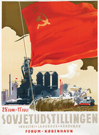@@@ MAGNET - Sovjetudstillingen Kobenhavn - Advertising