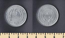 Burundi 5 Francs 1969 - Burundi