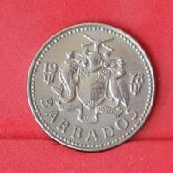 BARBADOS 25 CENTS 1978 -    KM# 13 - (Nº25069) - Barbados
