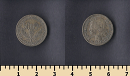 Cameroon 50 Centimes 1926 - Cameroon