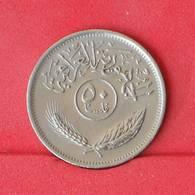 IRAQ 50 FILS 1975 -    KM# 128 - (Nº25073) - Iraq