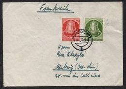 BRD - RFA -  BERLIN / 11-2-1952 MICHEL # 83 & 84 AUF BRIEF NACH FRANKREICH / KW 50.00 EURO (ref 5619) - Briefe U. Dokumente