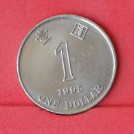 HONG KONG 1 DOLLAR 1995 -    KM# 69a - (Nº25079) - Hong Kong