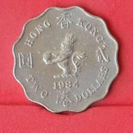 HONG KONG 2 DOLLAR 1984 -    KM# 37 - (Nº25081) - Hong Kong