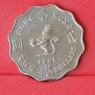 HONG KONG 2 DOLLAR 1985 -    KM# 60 - (Nº25082) - Hong Kong