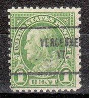 USA Precancel Vorausentwertung Preo, Locals Vermont, Vergennes 632-704 - Vereinigte Staaten