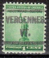 USA Precancel Vorausentwertung Preo, Locals Vermont, Vergennes L-2 HS - Vereinigte Staaten