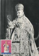 D35034 CARTE MAXIMUM CARD 1959 VATICAN - POPE JOHANNES XXIII CP ORIGINAL - Popes