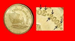 # RUDE DIES FROM FINLAND: CYPRUS ★ 20 CENT 2008 MINT LUSTER! LOW START ★ NO RESERVE! - Abarten Und Kuriositäten