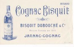 AC - B3375  - Buvard Cognac Bisquit Dubouché Et Co Non Utisé  (détails, état, ...= Scan) - Blotters
