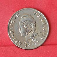 NEW CALEDONIA 10 FRANCS 1977 -    KM# 11 - (Nº25100) - New Caledonia