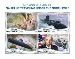 Maldives  2018  Nautilus Traveling   Submarine S201808 - Maldives (1965-...)