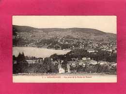 88 Vosges, Gérardmer, Vue Prise De La Roche Du Renard, (A. Largeron) - Gerardmer