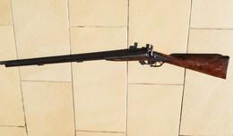 Fusil De Chasse à Percussion Poudre Noire - Armes Neutralisées