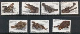 Tanzania 1996 Crocodiles MUH - Swaziland (1968-...)