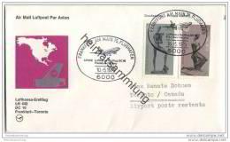 Brief Lufthansa-Erstflug LH 442 DC 10 - Frankfurt-Toronto - 10. Mai 1975 - [7] République Fédérale