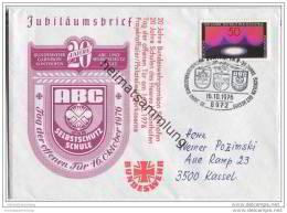 Brief Bundeswehr Garnison Sonthofen - ABC Selbstschutzschule - 16. Oktober 1976 - [7] République Fédérale