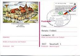 "BRD Amtliche GZS-Sonderpostkarte PSo 7 ""NAJUBRIA'83 In Rodenberg"" WSt ""Europamarke 1982"" 60(Pf),SSt 27.3.1983 RODENBERG - BRD"