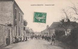 Sainte-Cérotte - Route De Lucé - France