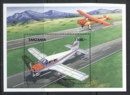 Tanzania 1999 Airplanes, Piper Cherokee MS MUH - Swaziland (1968-...)