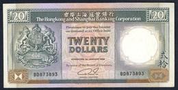 Hong Kong - 20 Dollars 1989 - HSBC - P-192c - Hong Kong