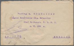 Armenien - Besonderheiten: 1919, FRENCH ARMENIAN LEGION: Egypt, 2 X 5 M Carmine, Multiple Franking O - Armenia