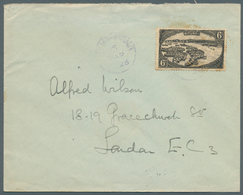 Brunei - Stempel: TEMBURONG (type D3): 1926 (15.3.), Cover From Temburong To London At Correct 6c Im - Brunei (1984-...)