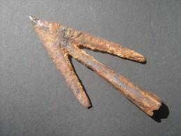 Ancient Viking Iron Arrowhead 10-12 Century - Archaeology